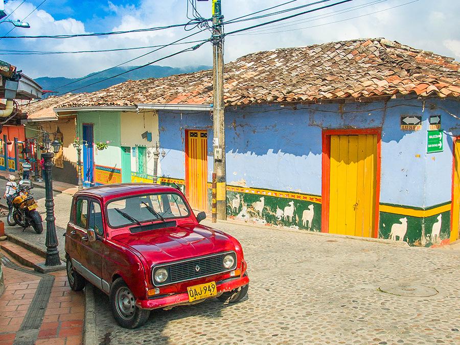 Guatapé Colombie