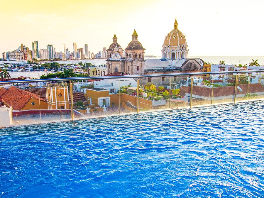 Hôtels Carthagène des Indes Colombie