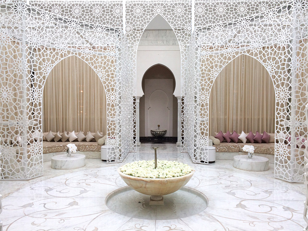 Un week-end a Marrakech entre copines - Royal Mansour