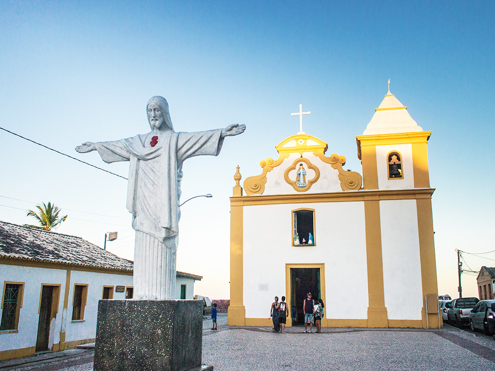Arraial d'Ajuda, Bahia, Brésil