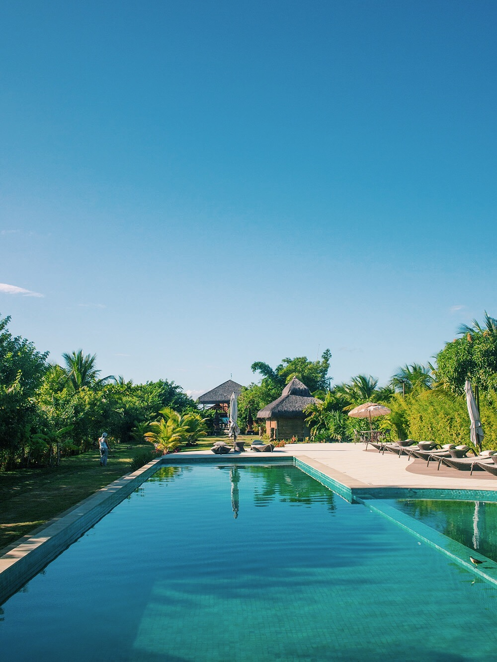 Villa Balidende, Barra Grande, Bahia, Brésil