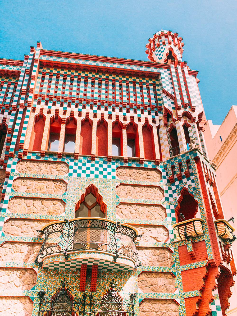 Casa Vicens Gaudi Barcelone